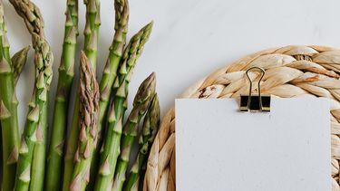 asperges en to do lijstje