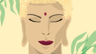 Illustratie Boeddha