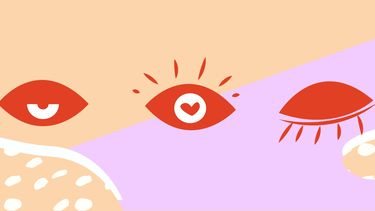 illustratie van oogjes