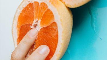 sinaasappel dat metafoor is voor orgasme krijgen