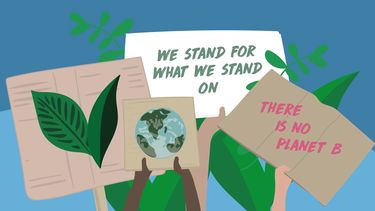 illustratie klimaatborden