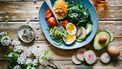 lunch vol groenten