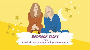 bedrock talks podcast over astrologie