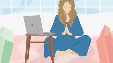 illustratie spiritueel ondernemen