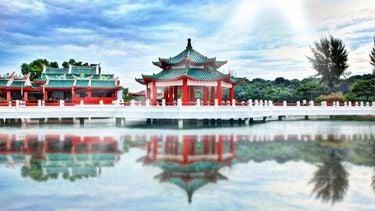 chinees gebouw in china