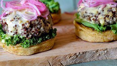 Culy quinoa burger