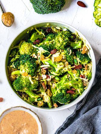 broccolisalade vegan