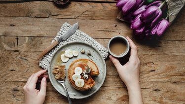 Onbijt met bloemen