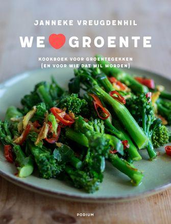 We love groente als voorbeeld van vegetarische kookboeken