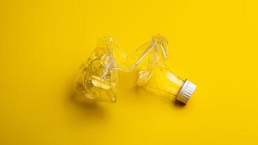 plastic flesje