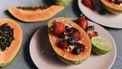 verschillende fruitsoorten in keuken