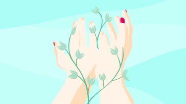 twee handen als illustratie