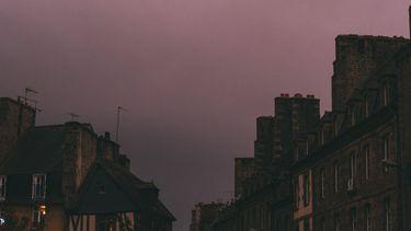 donkere ochtend