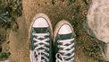 schoenen in het zand