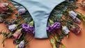 bikini broekje met bloemen