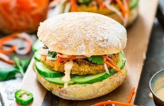 Bedrock - Vegan burger