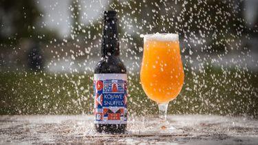Foto van het duurzame bier van water Rainbeer