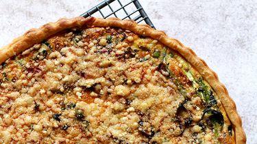 Vega Vrijdag groene asperges quiche 2