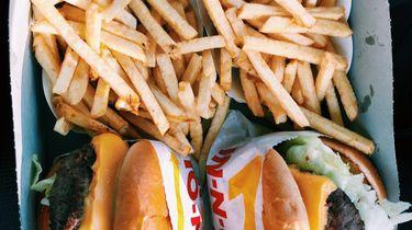 moe zijn ongezond eten
