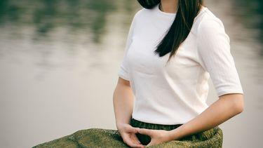 mediteren en ademhaling