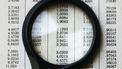 Een lijst met getallen onder de loep van numerologie
