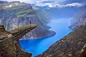 wandelen, noorwegen, hiken, hikes, natuur
