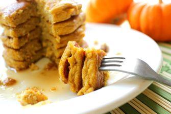 veel eiwit desserts pumpkin pancakes