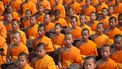 monniken zitten