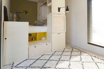 kleine slaapkamer in tiny house
