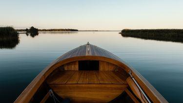 boot in zweeds meer