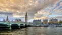 De Big Ben, van veraf gefotografeerd