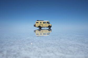 Bus Batlhasar op reis in Zuid-Amerika