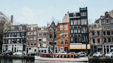 beeld uit stad in europa