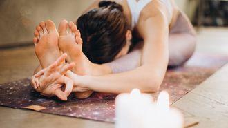vooroverbuiging yoga