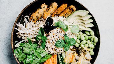 bord met eten met antidepressieve werking