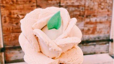 ijsje op een hoorntje