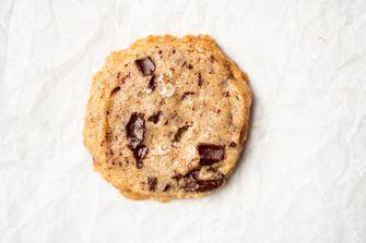 zelfgebakken koekje