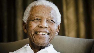 Foto van Nelson Mandela