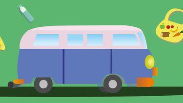 ilustratie busje