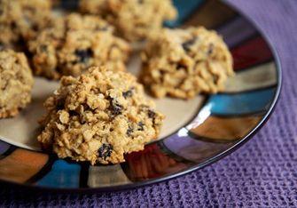 veel eiwit desserts peanut butter oatmeal raisin cookies