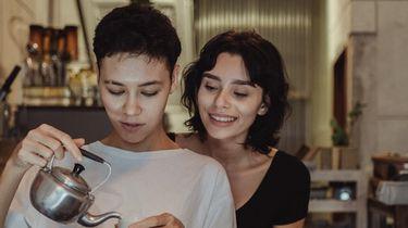 twee vrouwen die echte liefde delen