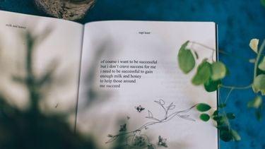 boek met planten