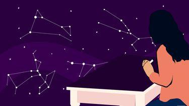 illustratie van astrologe
