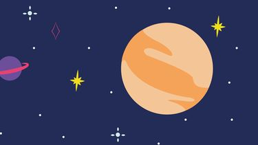 illustratie planeet Mars