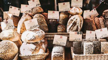 Brood bij bakker