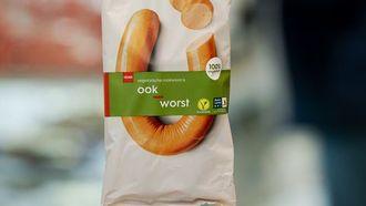 vegetarische rookworst hema
