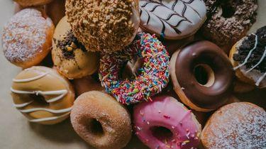 donuts met veel suiker