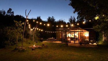camping huisje