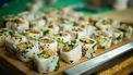 plantaardige sushi