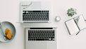 Twee laptops